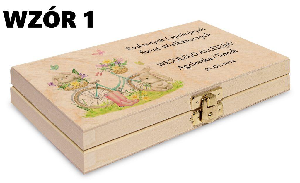 Wielkanocne pudełko - wzór 1
