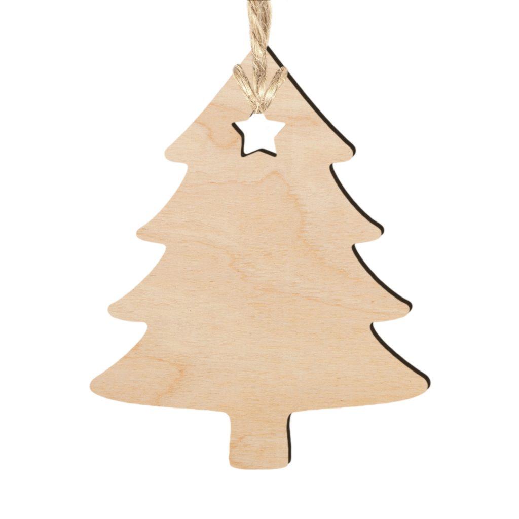Ozdoby Bożonarodzeniowe z drewna