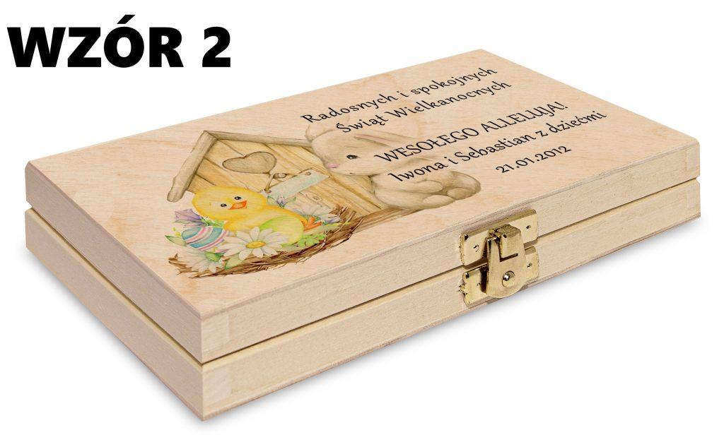 Wielkanocne pudełko - wzór 2