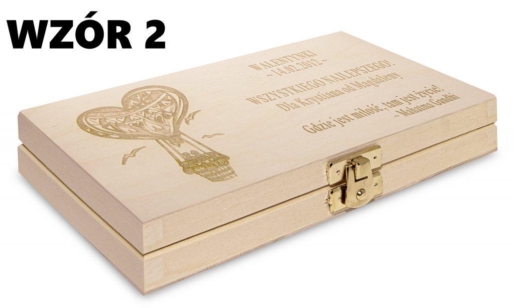 Pudełko na Walentynki - wzór 2