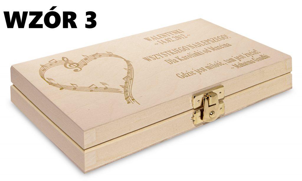 Pudełko na Walentynki - wzór 3