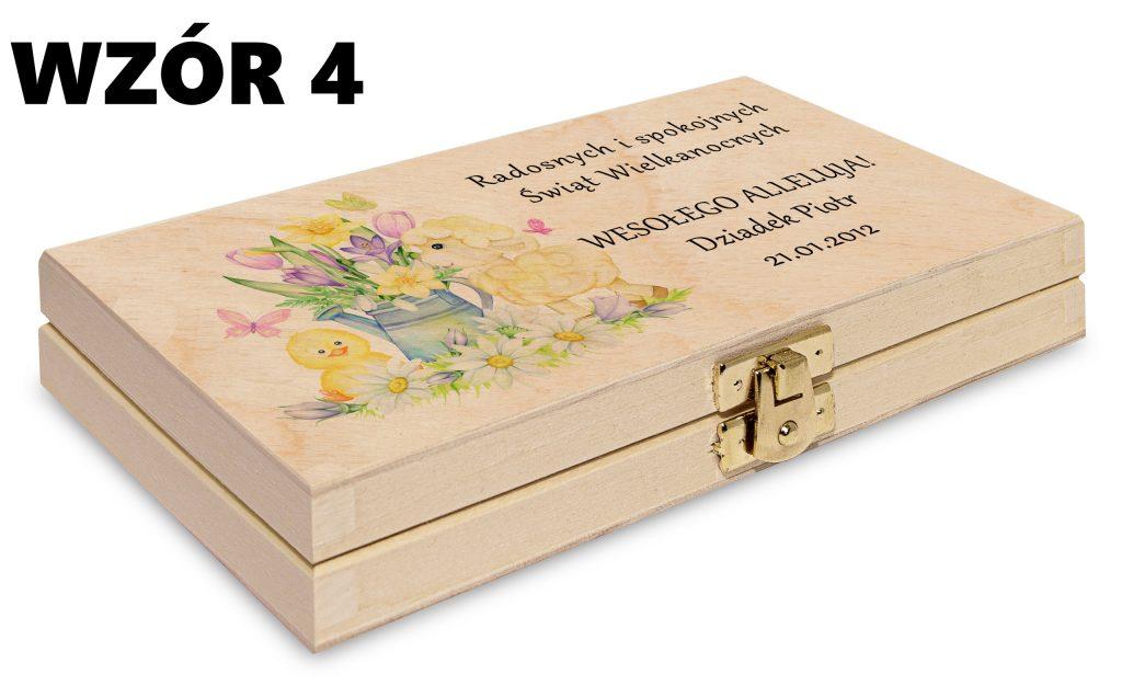 Wielkanocne pudełko - wzór 4