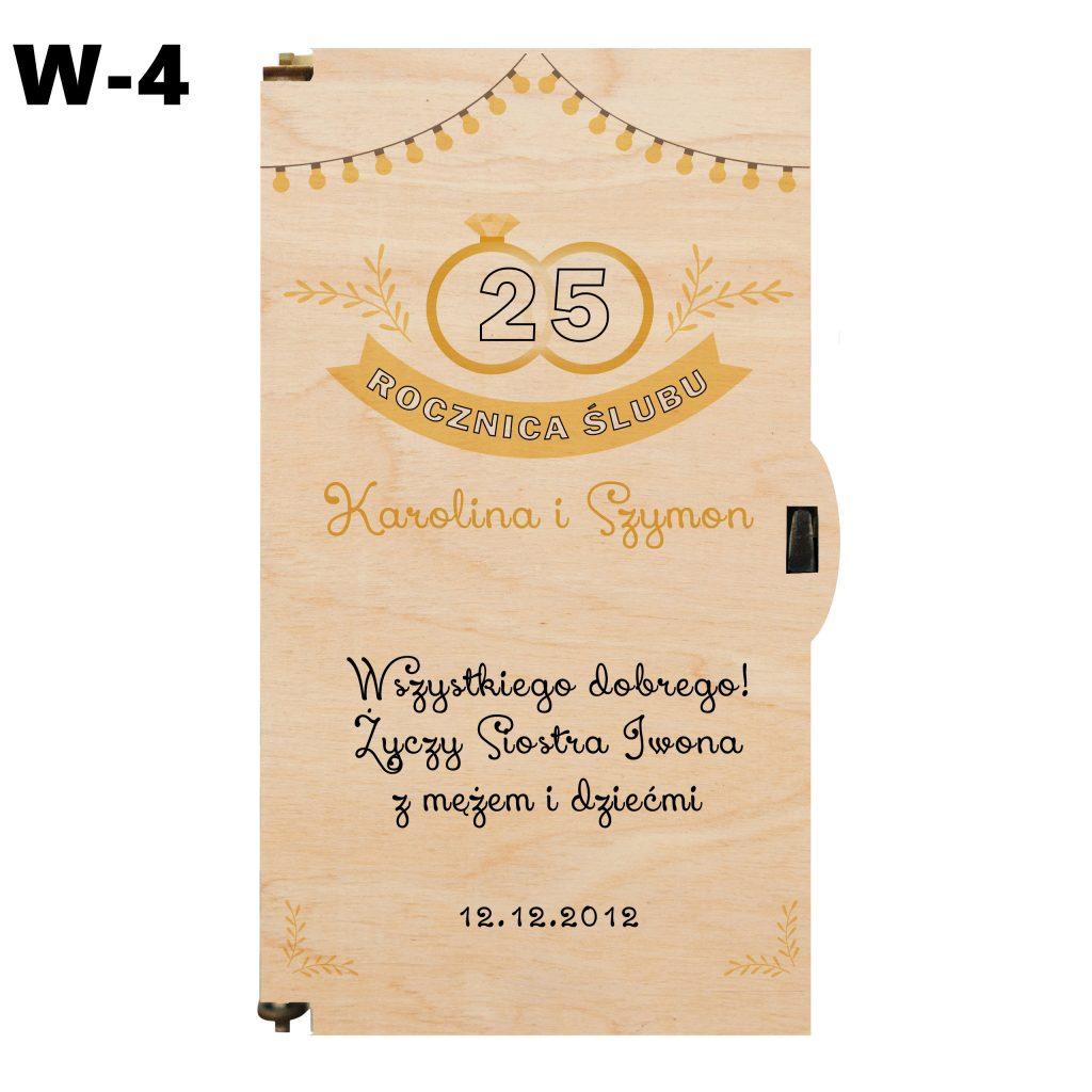 Pudełko na Rocznicę Ślubu - wzór 4