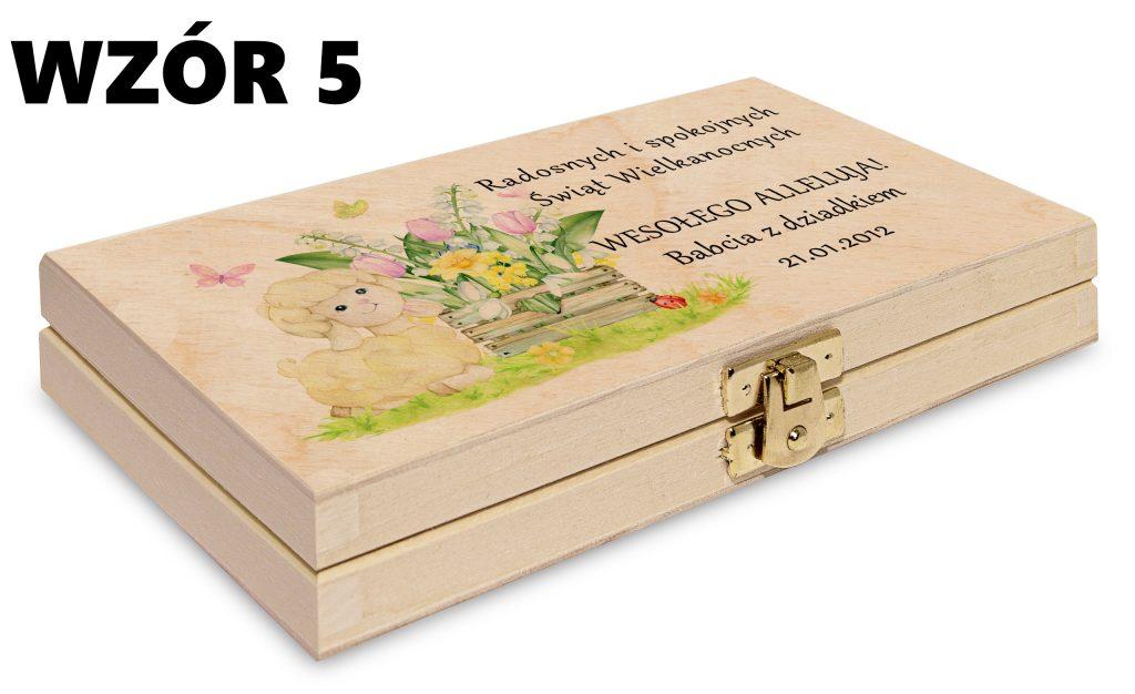 Wielkanocne pudełko - wzór 5