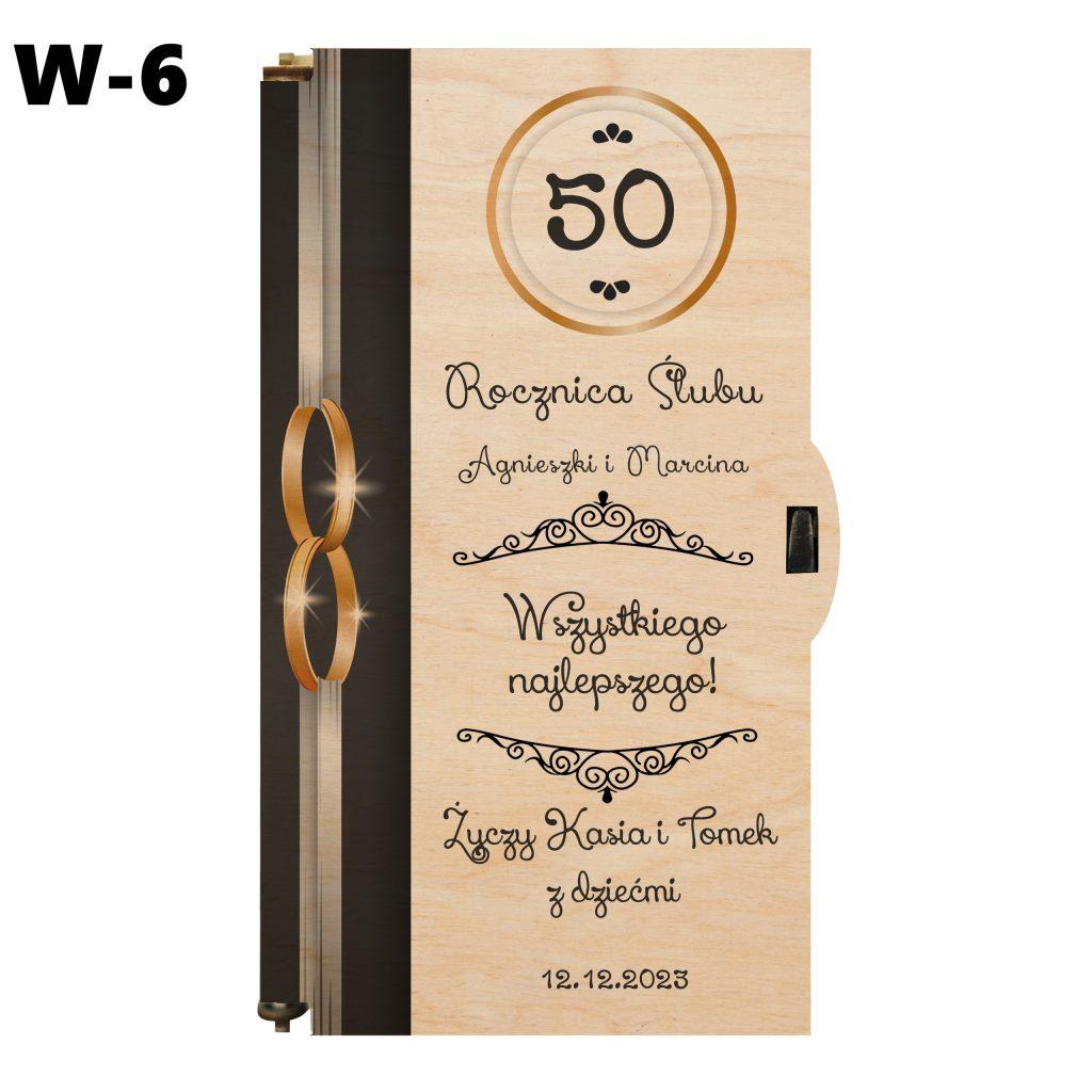 Pudełko na Rocznicę Ślubu - wzór 6