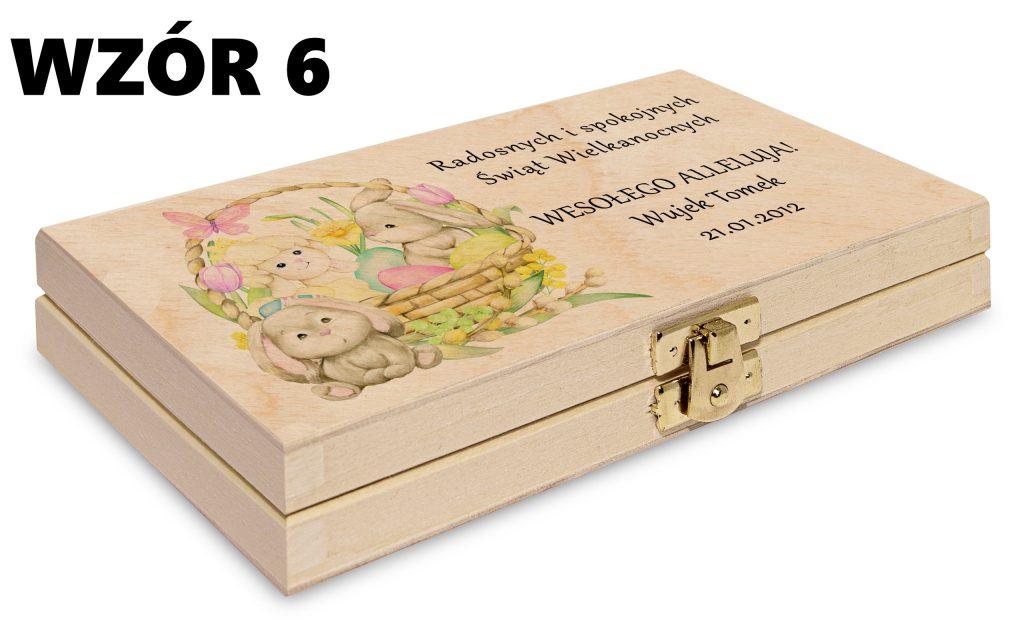 Wielkanocne pudełko - wzór 6