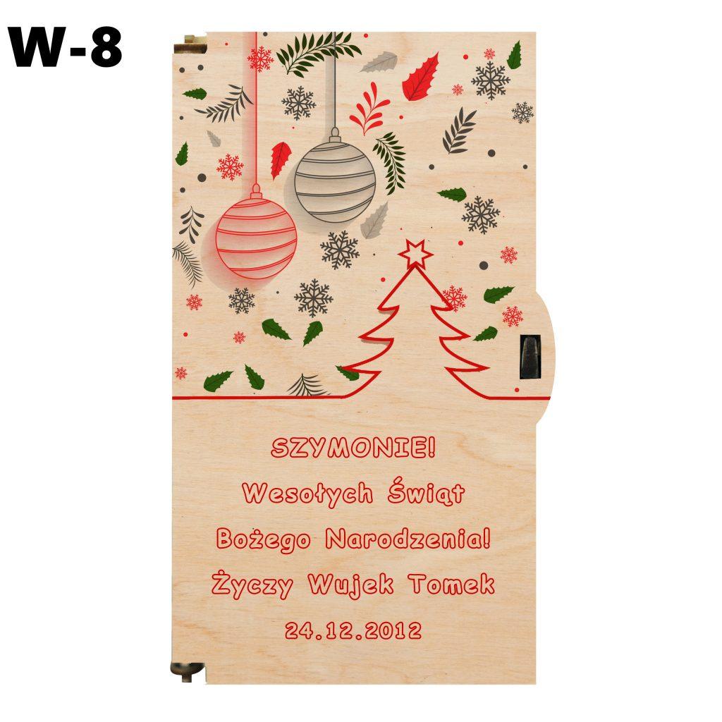 Pamiątka na Boże Narodzenie - wzór 8
