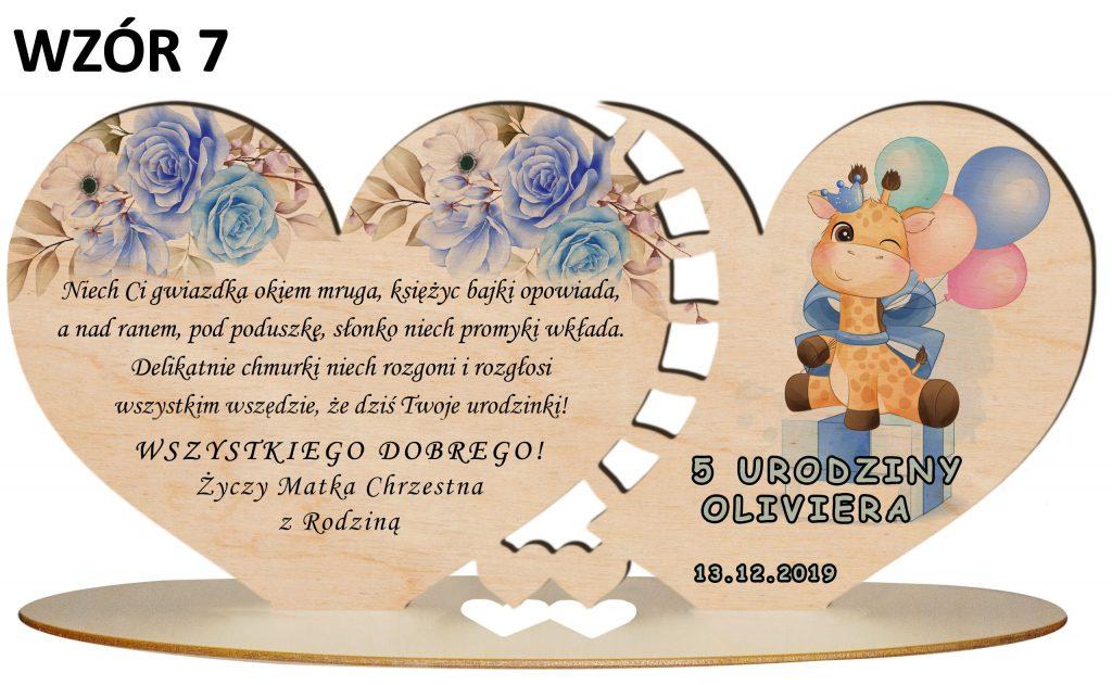 prezent na urodziny dziecka - wzór 7