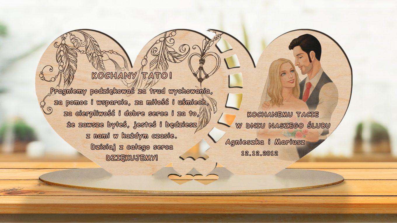 Prezent ślubny dla Młodej Pary