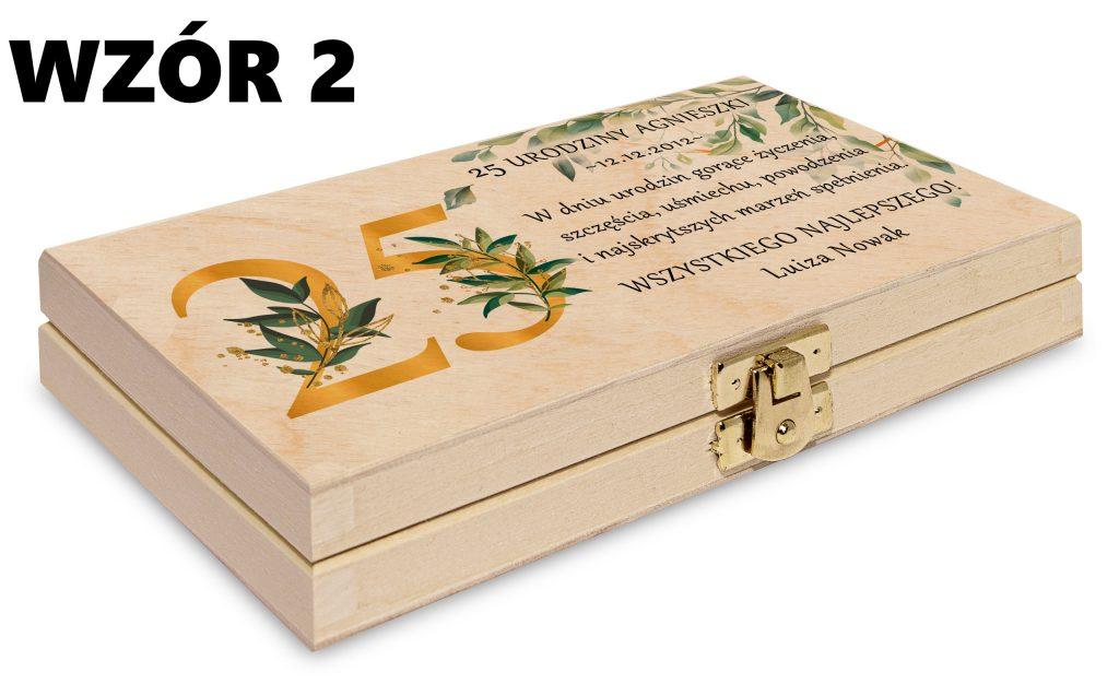 Pudełko na pieniądze - wzór 2