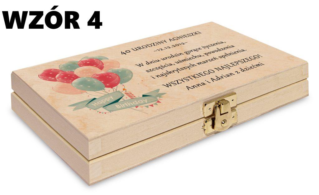 Pudełko na pieniądze - wzór 4