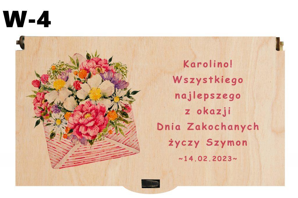 Prezent Walentynkowy - wzór 4