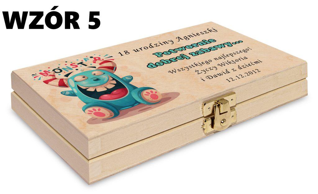 Pudełko na pieniądze - wzór 5