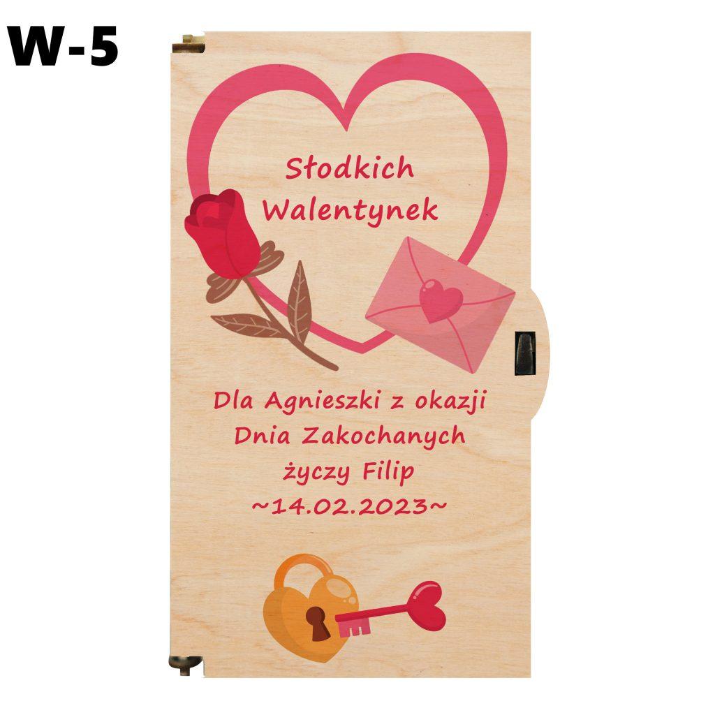 Prezent Walentynkowy - wzór 5