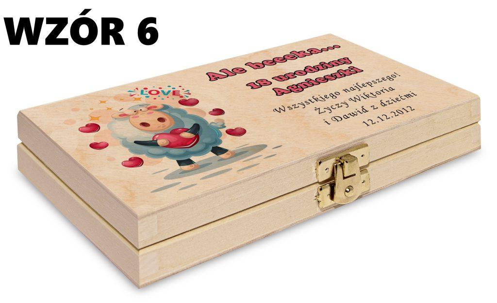Pudełko na pieniądze - wzór 6