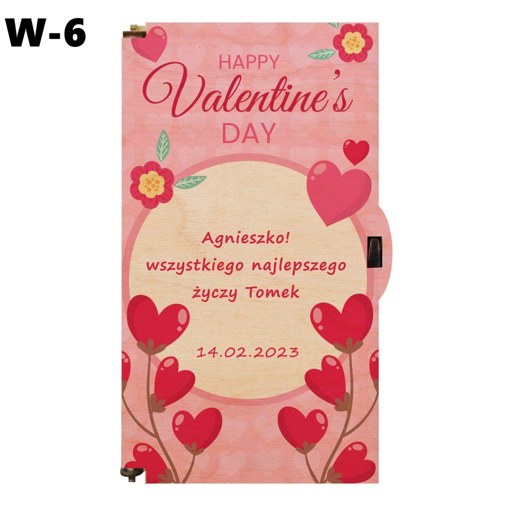 Prezent Walentynkowy - wzór 6
