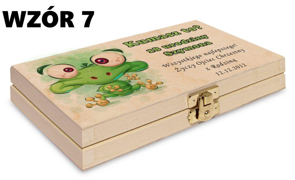 Pudełko na pieniądze - wzór 7