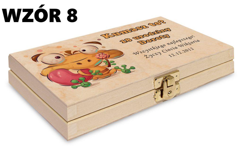 Pudełko na pieniądze - wzór 8