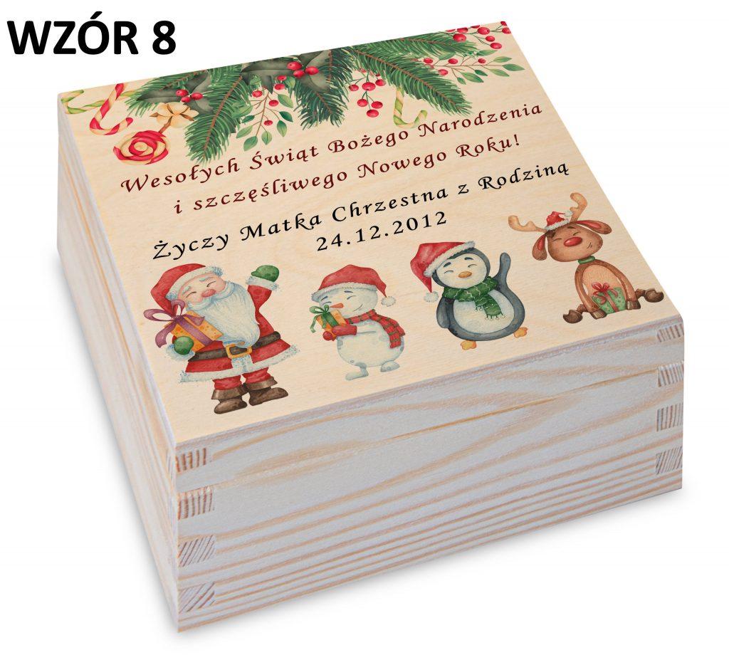 Prezent na Boże Narodzenie - wzór 8