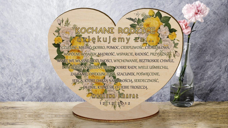 Oryginalny prezent ślubny