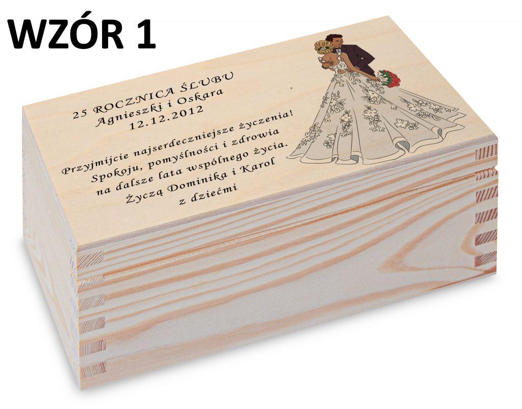 Rocznica Ślubu - pamiątka wzór 1