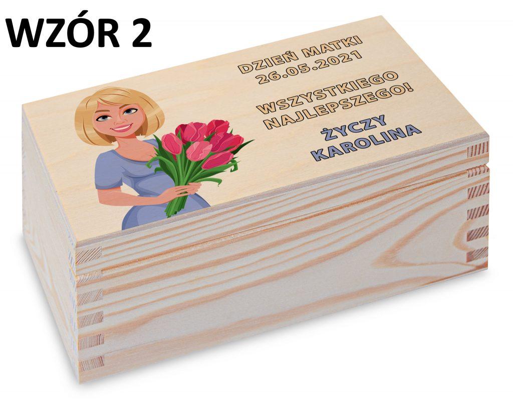 Herbaciarka na Dzień Matki - wzór 2