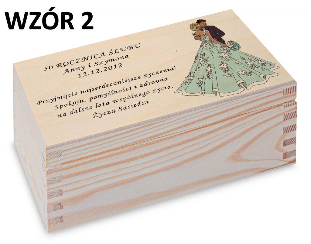 Rocznica Ślubu - pamiątka wzór 2