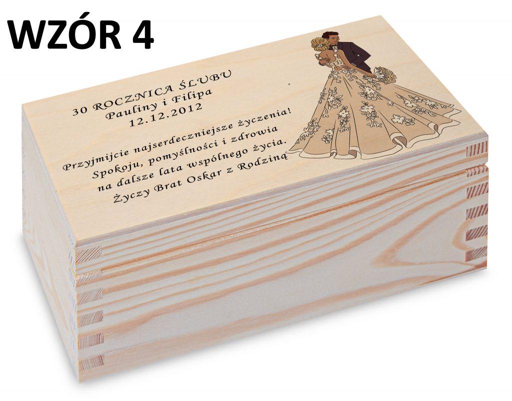 Rocznica Ślubu - pamiątka wzór 4