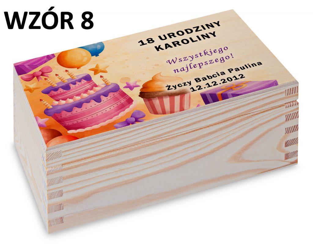 prezent na urodziny - wzór 8