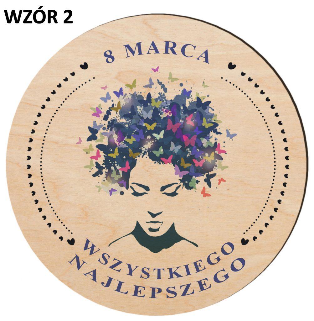Prezenty na Dzień Kobiet - magnesy wzór 2