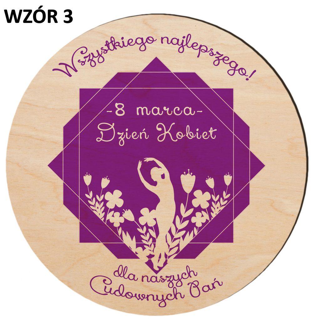Prezenty na Dzień Kobiet - magnesy wzór 3