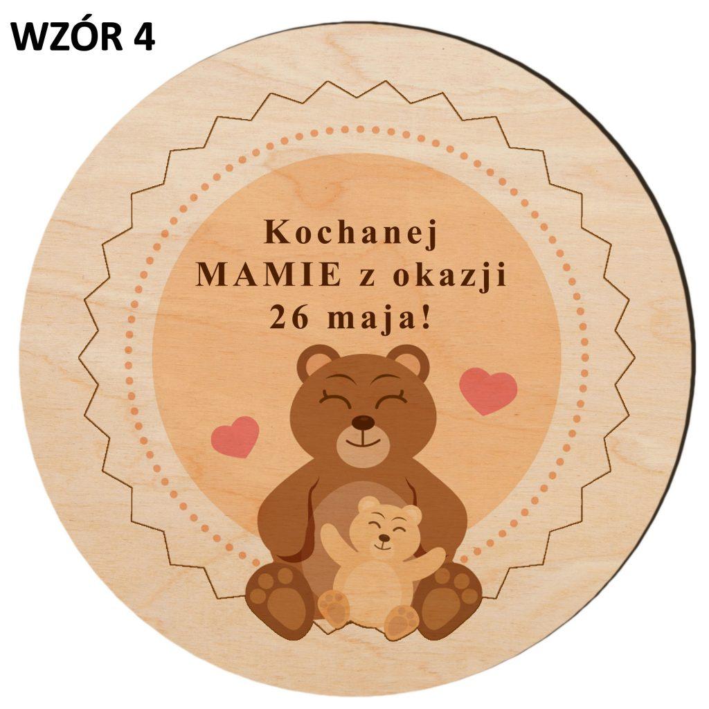 prezent dla mamy - magnes wzór 4