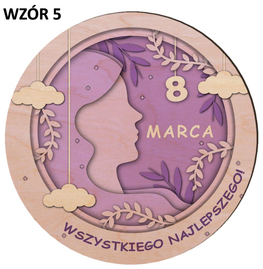 Prezenty na Dzień Kobiet - magnesy wzór 5