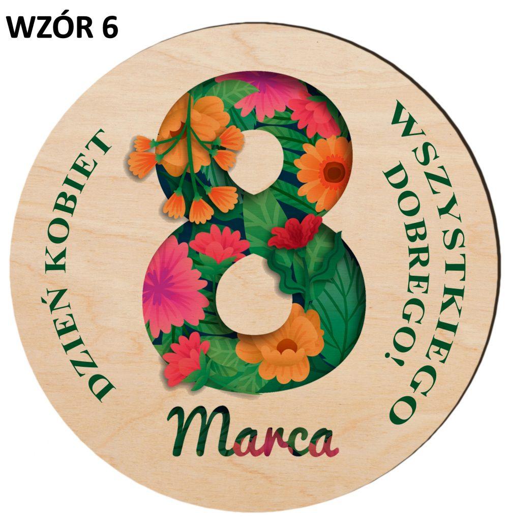 Prezenty na Dzień Kobiet - magnesy wzór 6