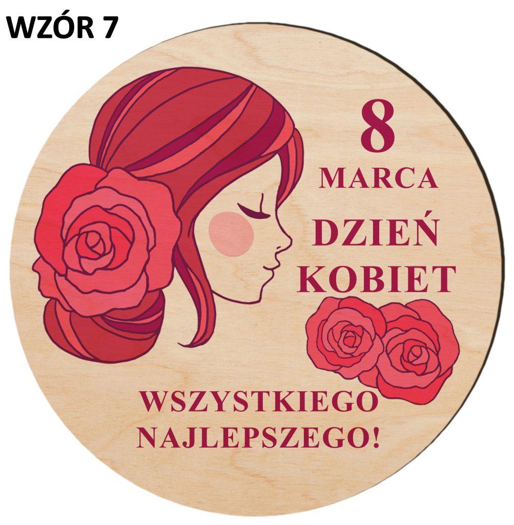 Prezenty na Dzień Kobiet - magnesy wzór 7