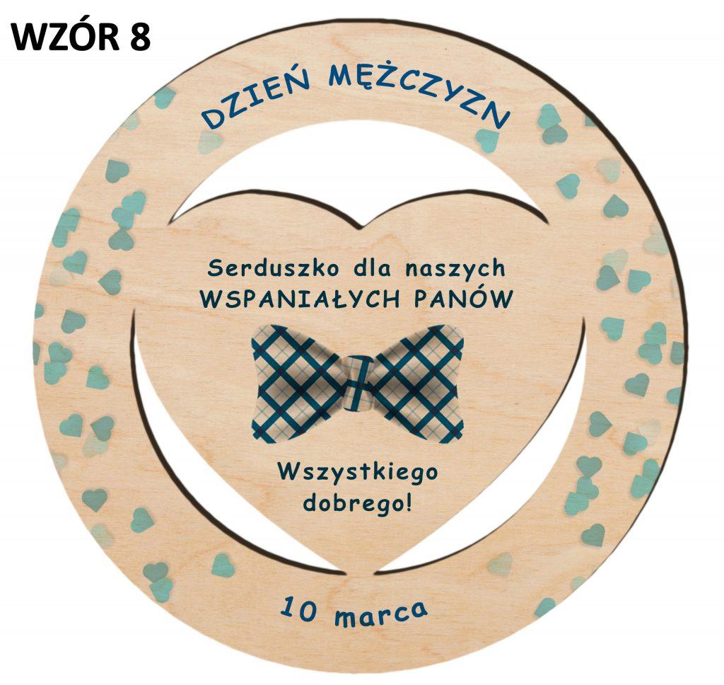 Dzień Mężczyzny - magnes upominek wzór 8