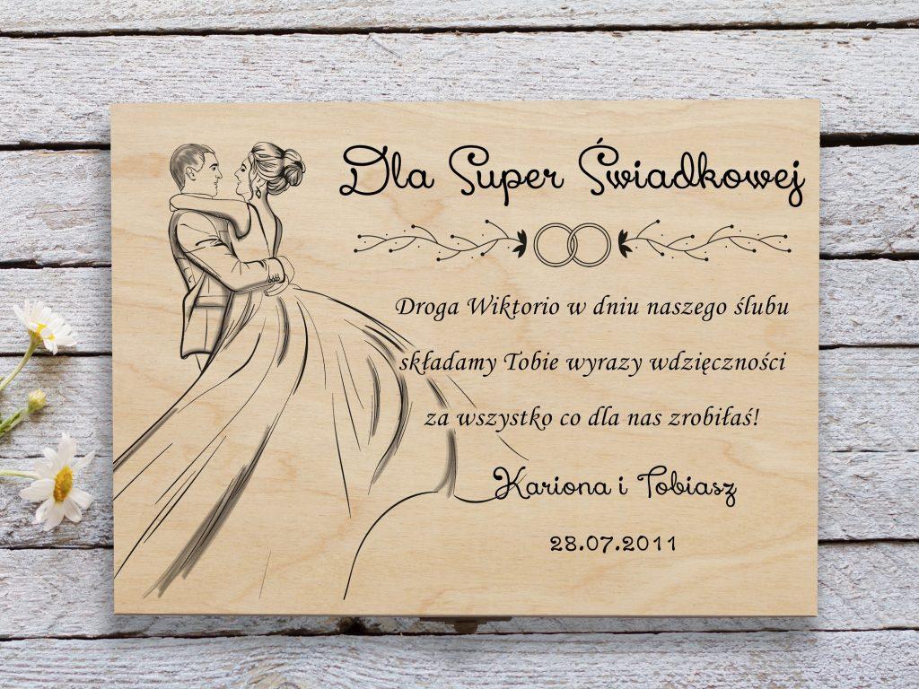 Prezent ślubny dla Przyjaciół