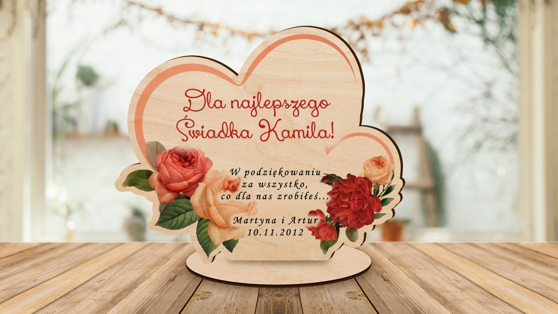 Personalizowane prezenty ślubne