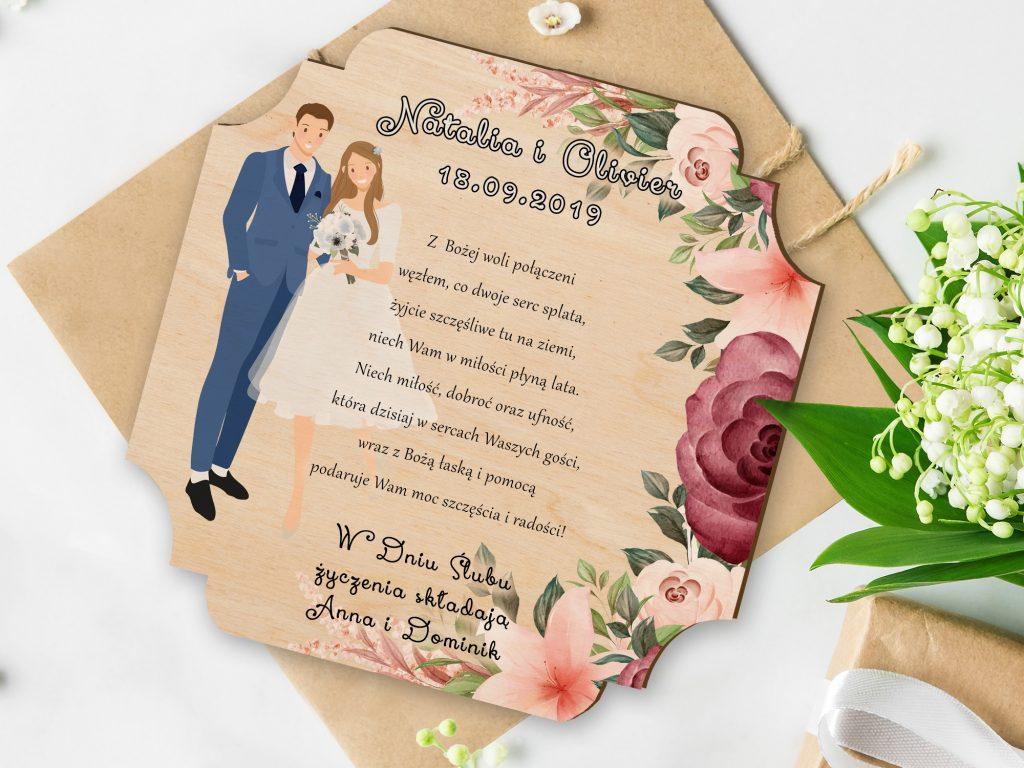 Wyjątkowe prezenty ślubne
