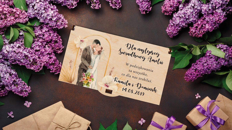 Personalizowany prezent ślubny