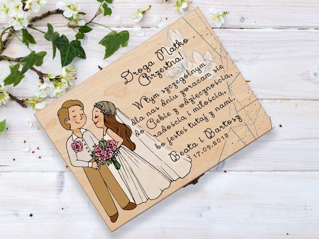 Personalizowane prezenty na ślub
