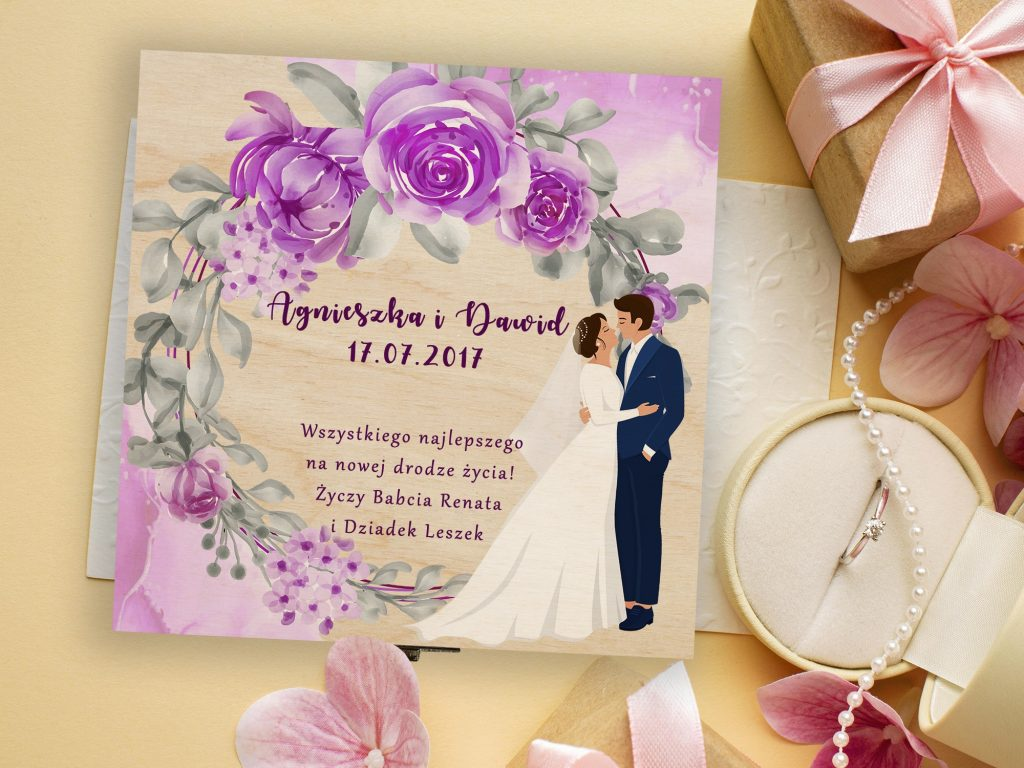 Upominki weselne dla Pary Młodej